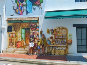 Murales Singapur Chinatown