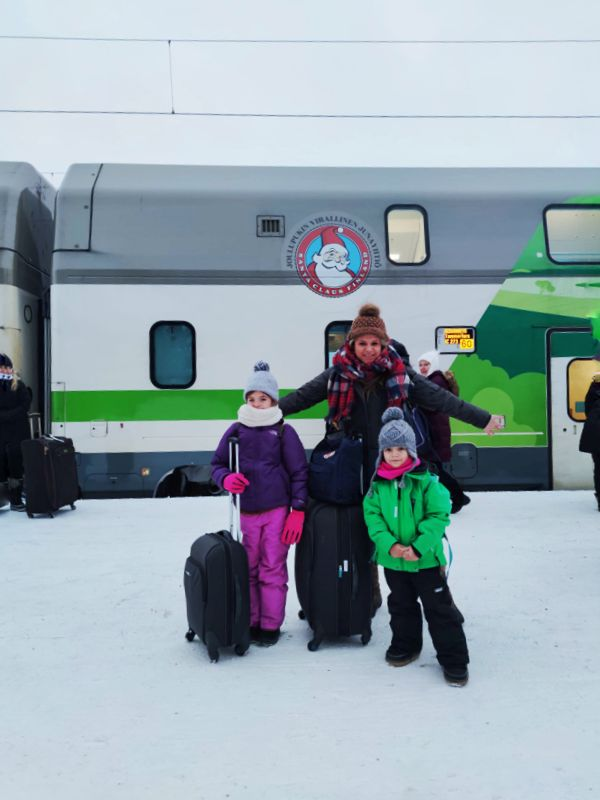 Llegada a Rovaniemi