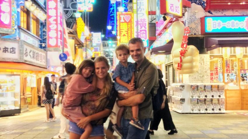japon con niños